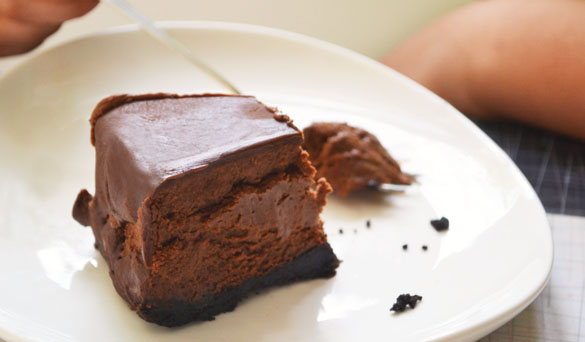 chocolate-cheesecake