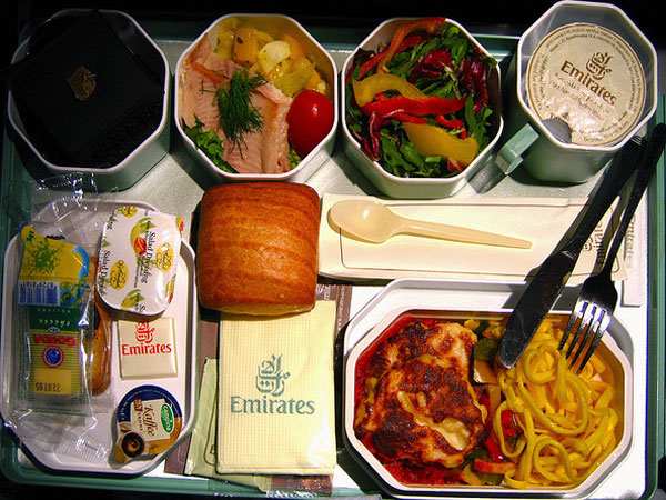 غذای fly emirates